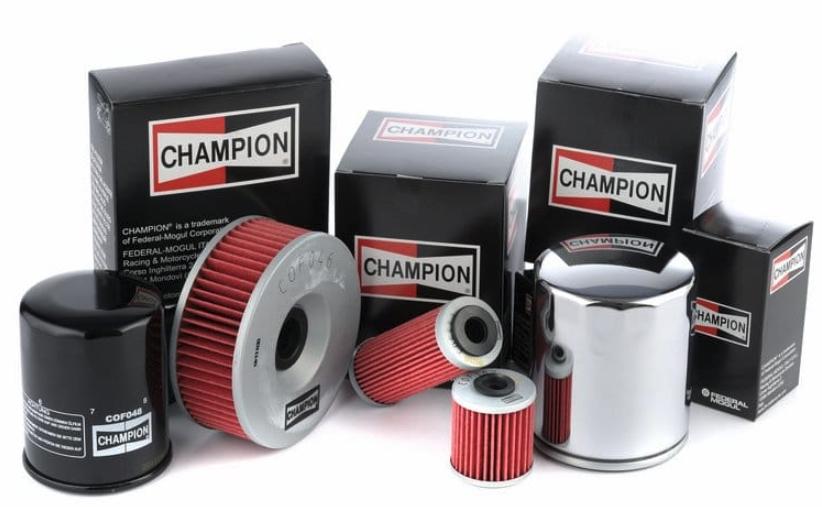 Filtre à huile Champion pour votre moto
