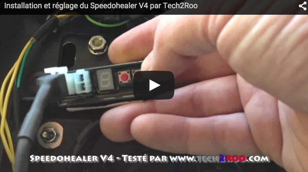Calibreur de vitesse - SPEEDOHEALER V4 - Kawasaki 1 - Tech2Roo
