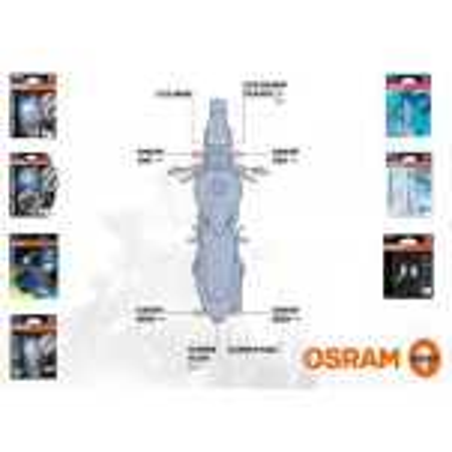 Osram - Kit Ampoule Honda CBF 125 2008