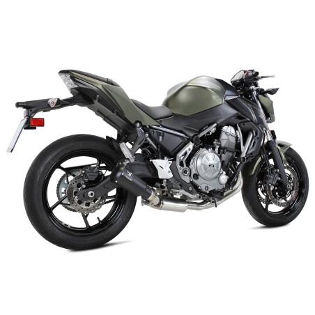 Echappement IXRACE MK2 black édition - Kawasaki Z650 et Ninja 650 2017 et +
