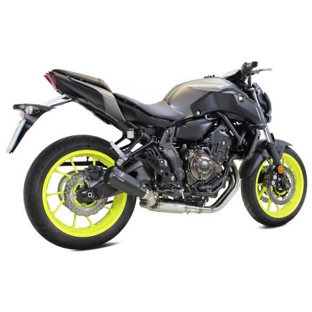 Echappement IXRACE MK2 black édition - Yamaha MT07 2014 et +