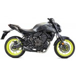 Echappement IXRACE New Pure Conic black - Yamaha MT07 2014 et +