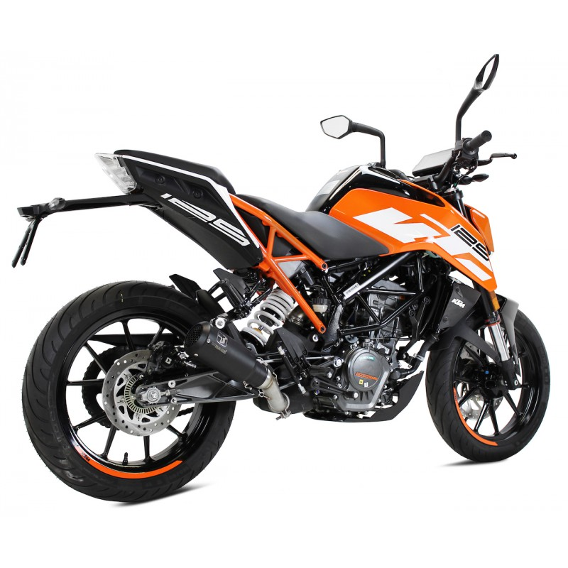 echappement ixrace mk2 black dition ktm duke 125 rc125. Black Bedroom Furniture Sets. Home Design Ideas