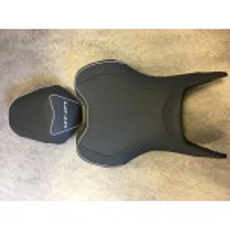 Selle Bagster READY LUXE configurable, noir liseré au choix pour Yamaha MT07 2018 et +