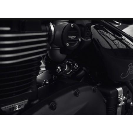 Boitier pour déplacer le contacteur coté gauche sur Triumph Bobber 2017 et +