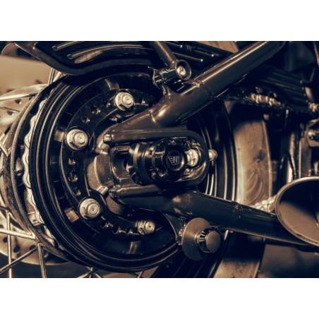 Cache-couronne ABM Wunderkind pour Triumph Bobber 2017 et +