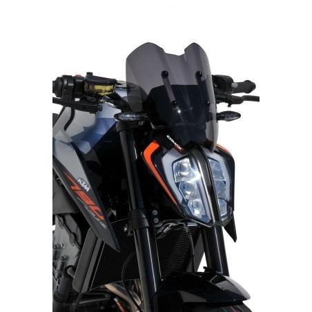 Saute Vent Ermax Sport avec kit de fixation pour KTM 790 Duke 2018 et +
