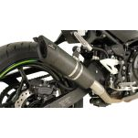 Silencieux Slip on REMUS SPORT FLOW Carbone pour Kawasaki Ninja 400 2018 et +