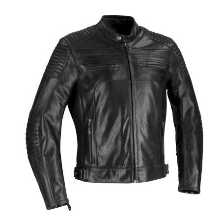 Blouson moto cuir BERING Morton