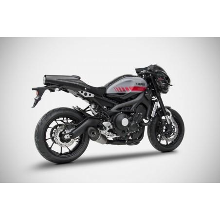 Ligne complète racing conique inox ZARD pour Yamaha MT09 / XSR900 2014-2018