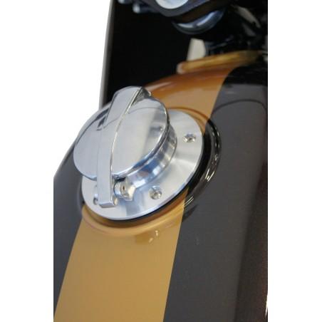 Adaptateur + bouchon Monza pour Moto Guzzi V7