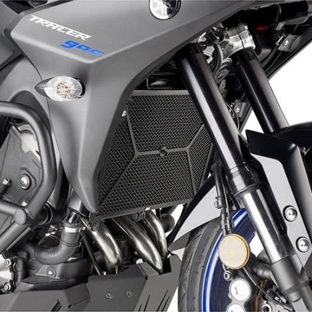 Grille de radiateur spécifique PR2139 GIVI, acier inox noir, pour Yamaha Tracer 900 et Tracer 900 GT 2018 et +