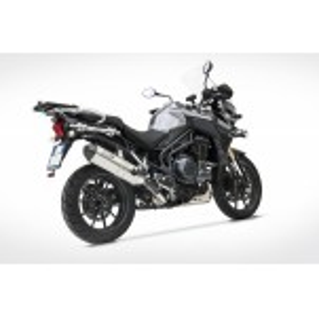 Silencieux haut inox racing ZARD pour Triumph Tiger 1200 2012-2016