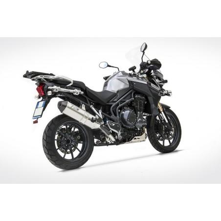 Silencieux haut carbone homologué ZARD pour Triumph Tiger 1200 2012-2016