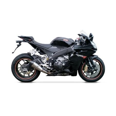Silencieux titane racing ZARD pour Aprilia RSV4 2009-2014