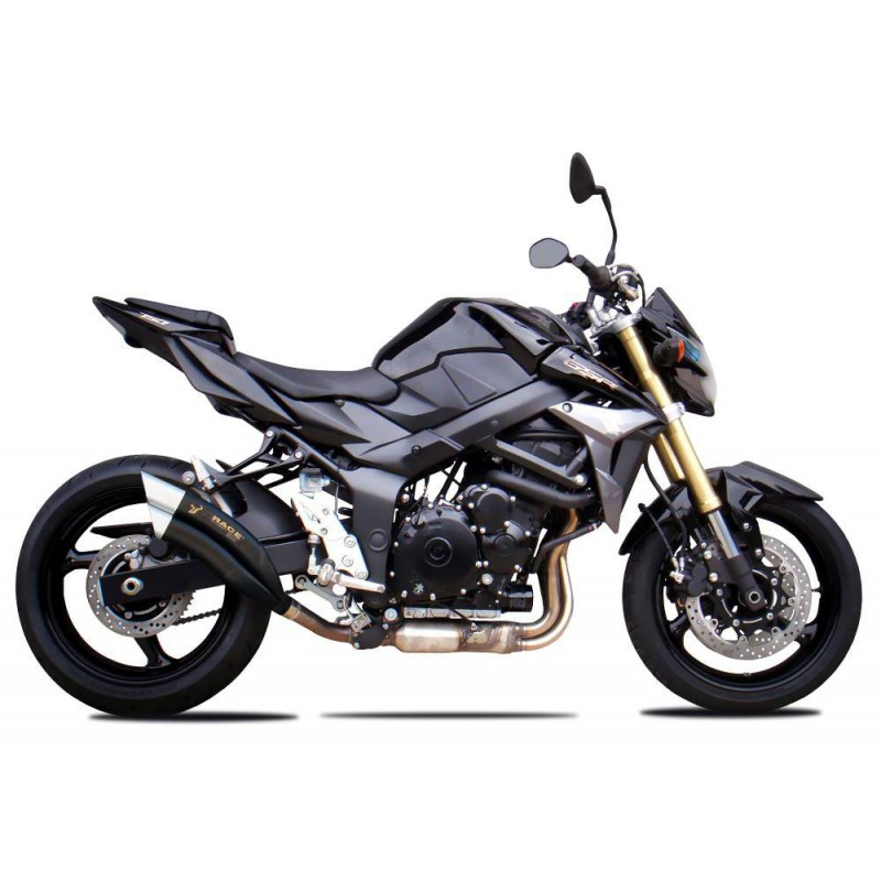 echappement ixrace z7 black suzuki 750 gsr et 750 gsx s tech2roo. Black Bedroom Furniture Sets. Home Design Ideas