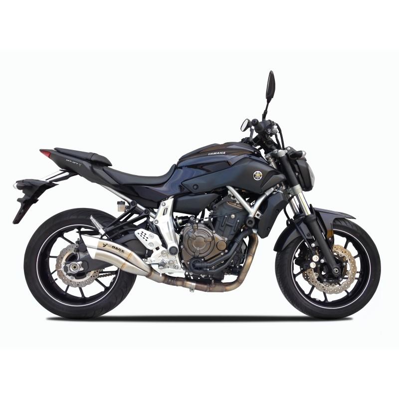 Echappement IXRACE Z7 Inox - Yamaha MT07, XSR 700 et Tracer 700