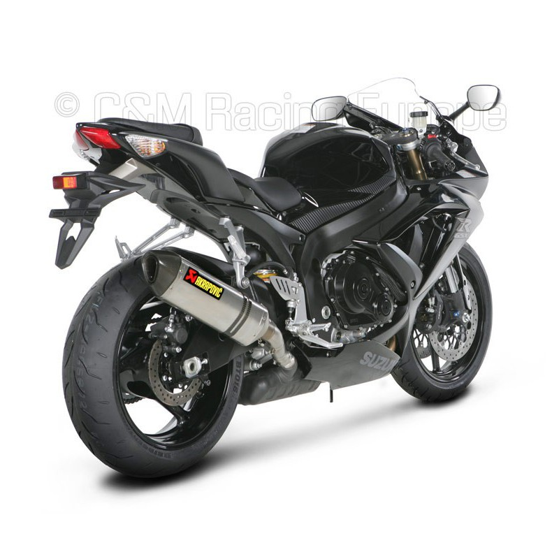 silencieux akrapovic pour suzuki gsxr 750 2008 2010 tech2roo. Black Bedroom Furniture Sets. Home Design Ideas