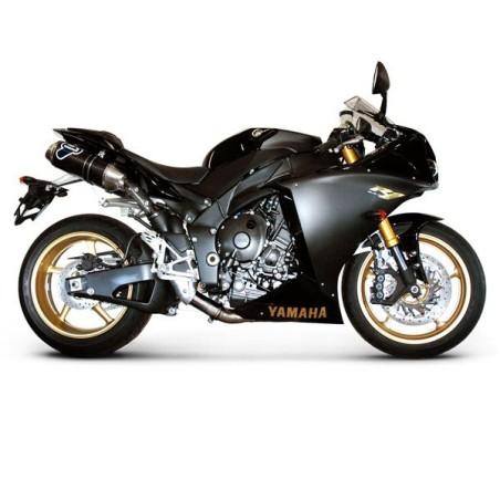 Silencieux Ovale Termignoni pour Yamaha YZF R1 1000 2009-2014