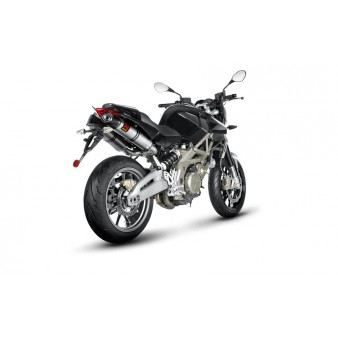 silencieux akrapovic pour aprilia shiver 750 gt 2010 2016 tech2roo. Black Bedroom Furniture Sets. Home Design Ideas