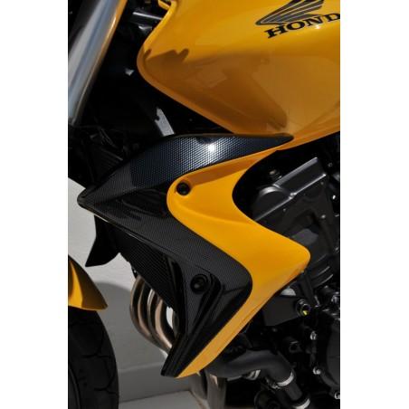 Écopes de radiateur Ermax pour Honda CB600F Hornet 2011-2013 Bicolore