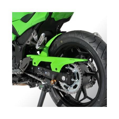 Garde-boue arrière et pare chaîne Ermax - Kawasaki 300 Ninja