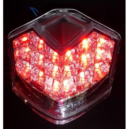 Feu à LED blanc Ermax pour Kawasaki Z750 2007-2012 / Z1000 2007-2009 / ZX-10R 2008-2010