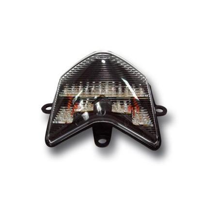 Feu à LED blanc Ermax, clignotants intégrés pour Kawasaki ZX-10R NINJA 2004-2005