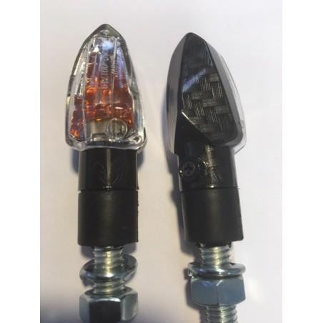 Clignotants à ampoules Chaft - TINNY carbone