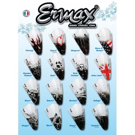 Sérigraphie pour bulle / saute-vent ERMAX