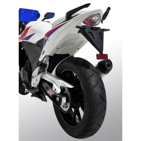 Passage de roue Ermax + support de plaque ABS, pour Honda CBR500R 2013-2016