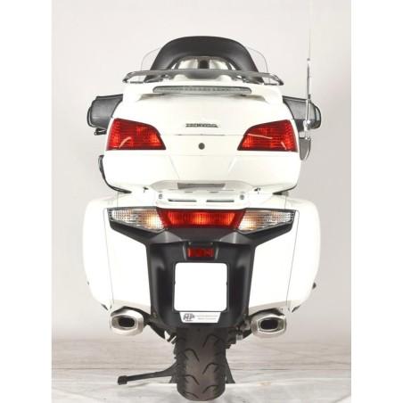 Silencieux rectangulaire carbone Spark pour Honda 1800 Goldwing 2013 et +