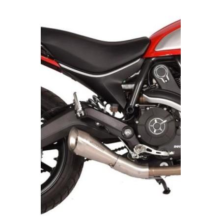 Silencieux 60'S Classic SPARK pour Ducati Scrambler 2015 et +