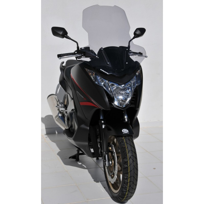 pare brise scooter ermax haute protection 66cm honda 700 integra 2012 2013 tech2roo. Black Bedroom Furniture Sets. Home Design Ideas