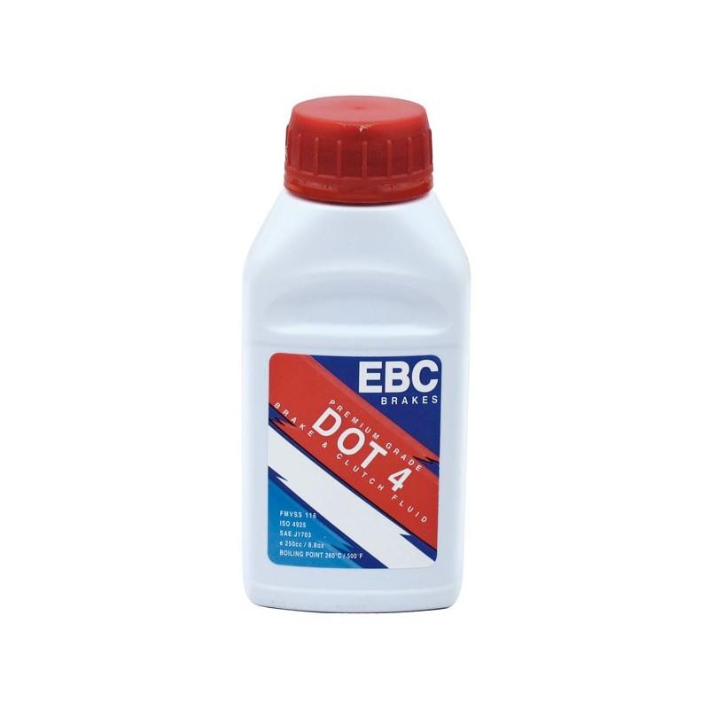 liquide de frein dot 4 ebc bf004 en bouteille de 250 ml tech2roo. Black Bedroom Furniture Sets. Home Design Ideas
