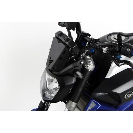 Kit complet 28 mm ABM Vario Booster - Yamaha MT-07 (pontets réglables, guidon, embouts et cache compteur)