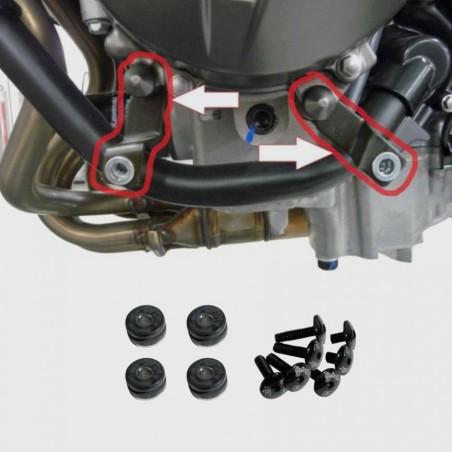 Kit de fixation pour sabot moteur Ermax - Kawasaki Z 800/800 E 2013 et +