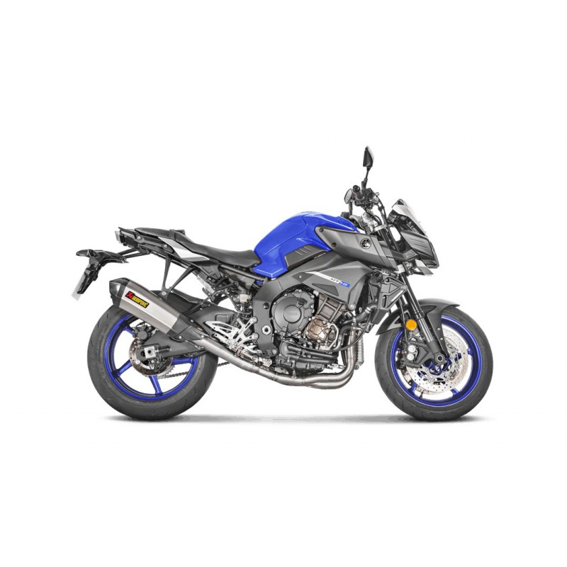 ligne compl te akrapovic racing pour yamaha mt10 fz 10 titane tech2roo. Black Bedroom Furniture Sets. Home Design Ideas