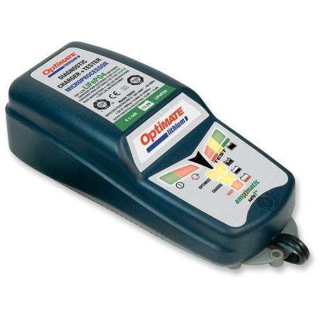 Chargeur de batterie moto Tecmate Optimate pour batterie LITHIUM