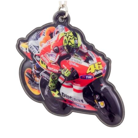 Porte-clés Moto GP Rossi 46 Ducati