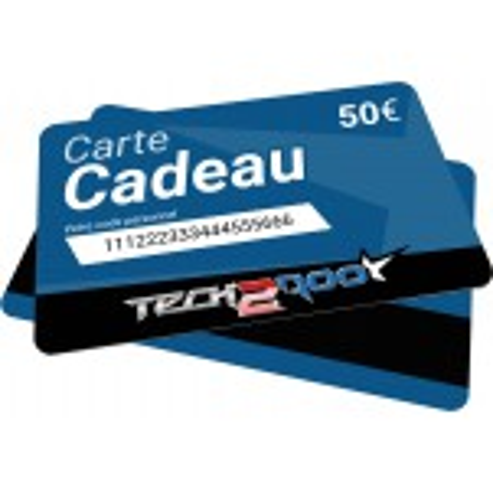 Carte Cadeau Tech2Roo 50€