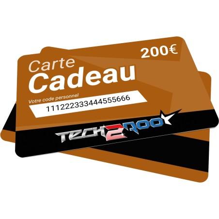 Carte Cadeau Tech2Roo 200€