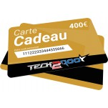 Carte Cadeau Tech2Roo 400€