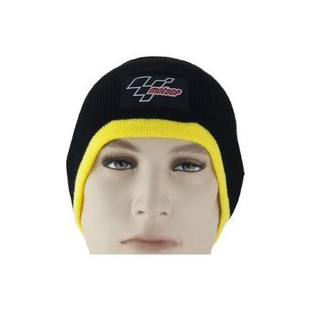 Bonnet MotoGP noir et jaune