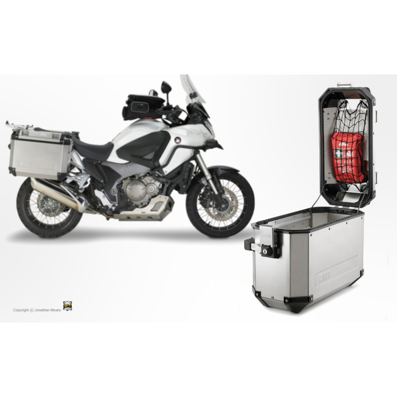 filet araign e givi e144 pour valise monokey trekker outback tech2roo. Black Bedroom Furniture Sets. Home Design Ideas