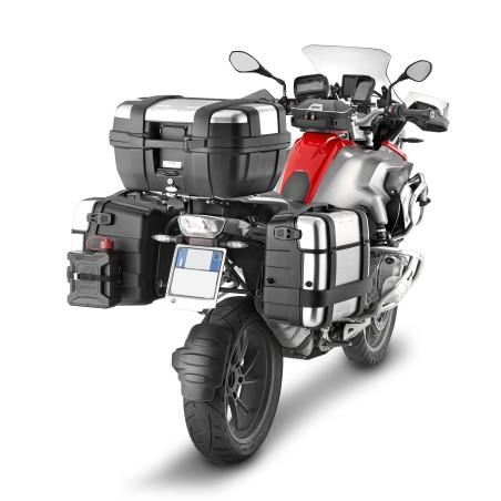 Valise Top Case MONOKEY TRK33PACK2 GIVI Trekker 33 litres aluminium LA PAIRE