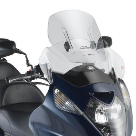 Airflow GIVI extension de pare-brise bulle pour Honda Silverwing 400 et Silverwing 600 2001-2010