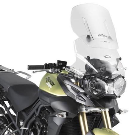 Airflow GIVI extension de pare-brise bulle pour Triumph Tiger 800 et 800 XC 2011-2015