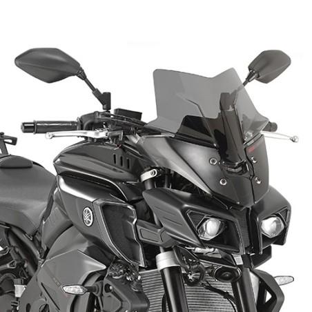 Bulle GIVI noir pour Yamaha MT10 2016 et +