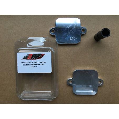 Kit plaques suppression système anti-pollution pour Yamaha MT09, Tracer 900 et XSR 900